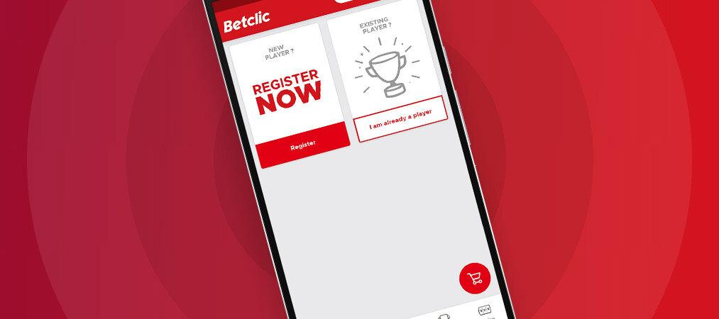 l'appli sport Betclic mobile