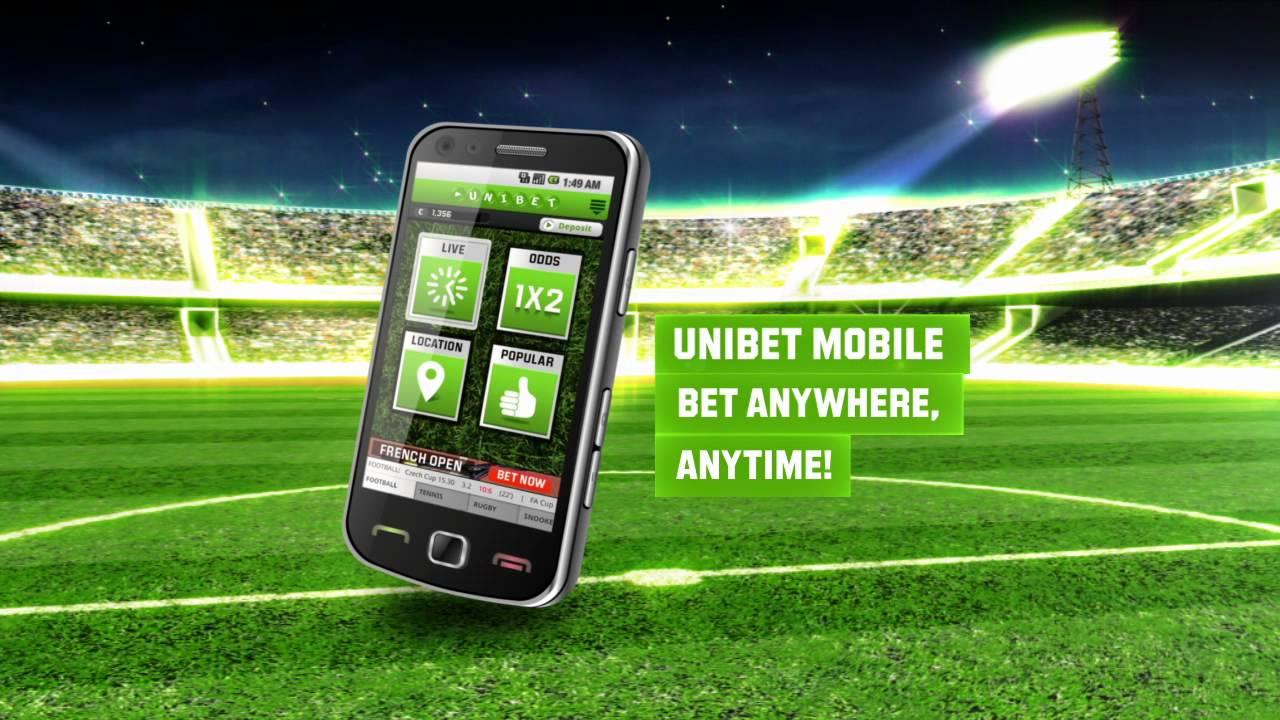 l'appli Unibet pour iOS